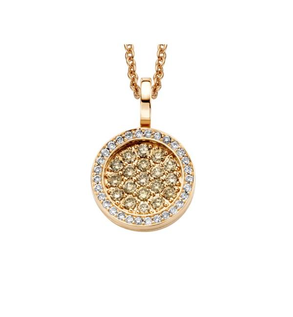 Roségoud met diamant